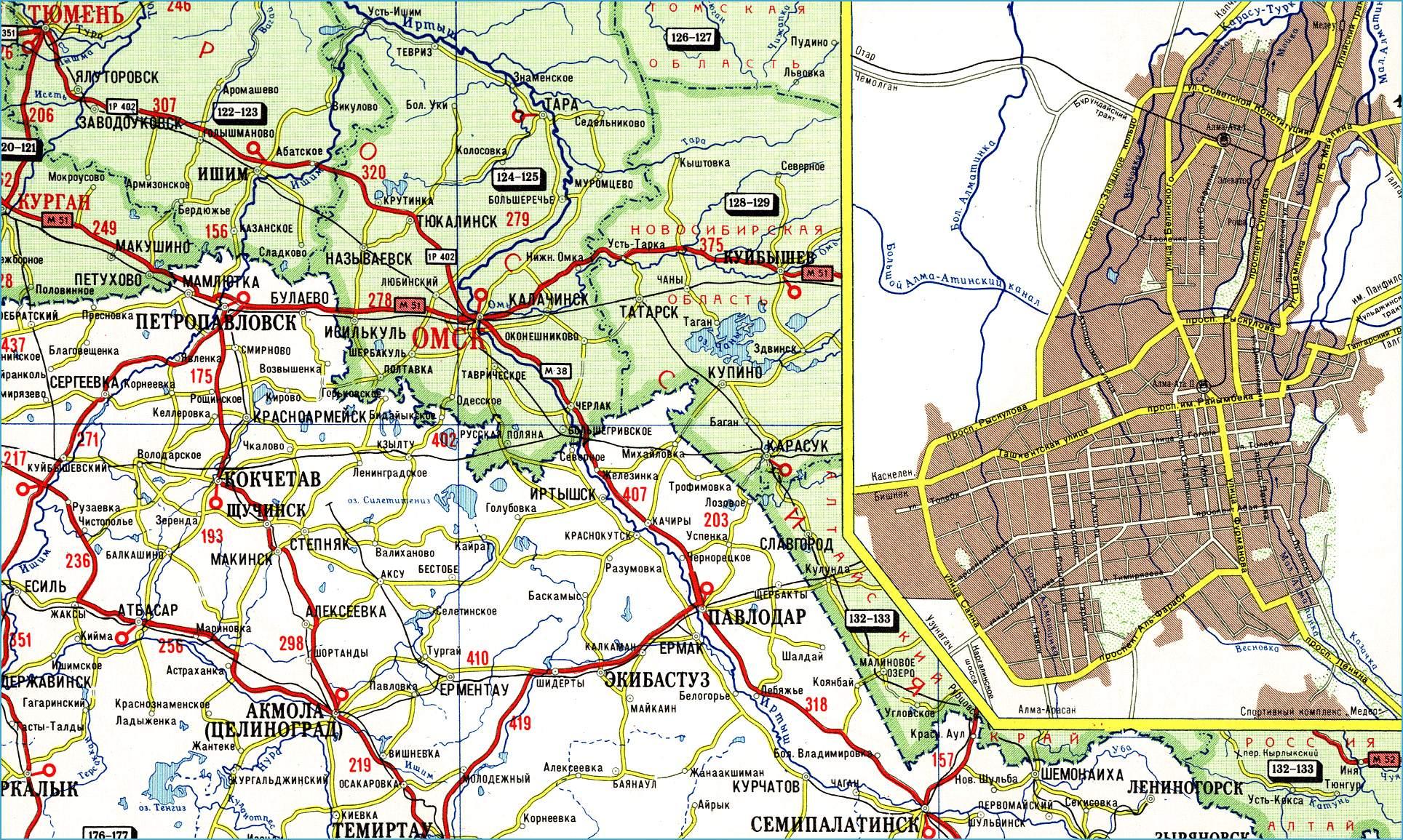 Онлайн карта пограничных пунктов России Информация