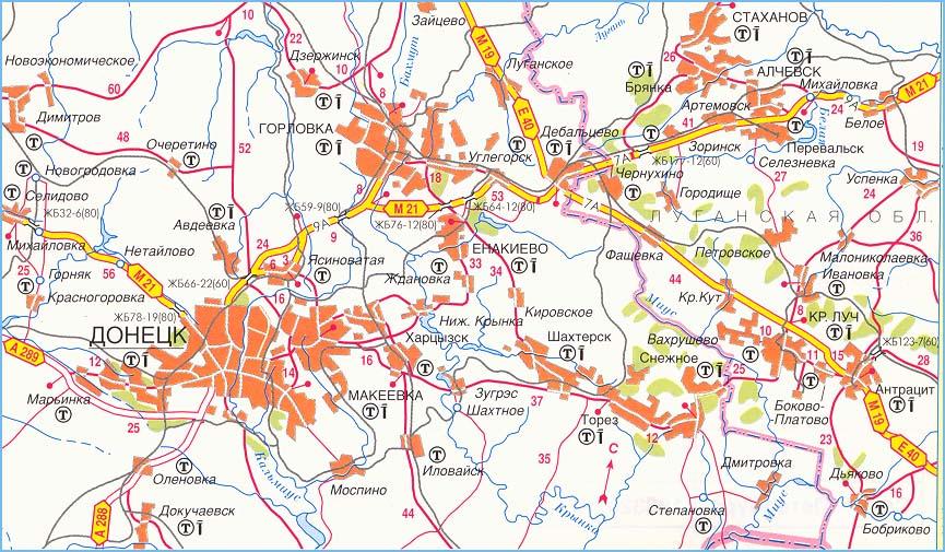 федеральная трасса М-21 часть