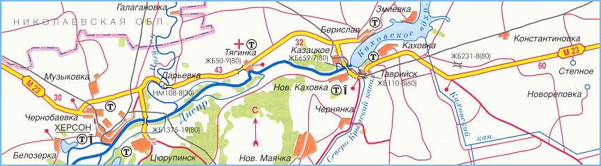 федеральная трасса М-23 часть