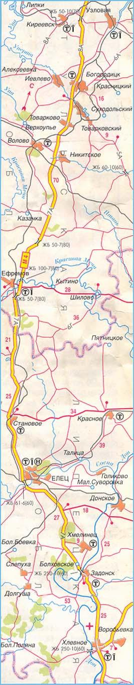 федеральная трасса М-4 часть 2