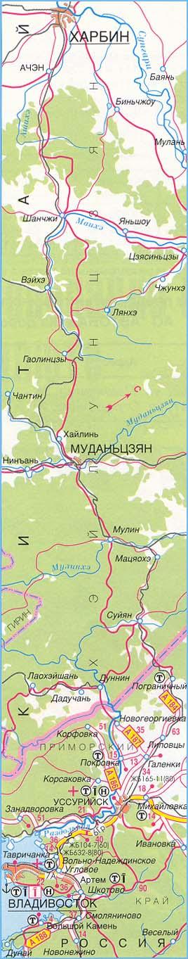 федеральная трасса М-60 часть