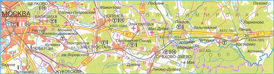 Трасса москва-казань схема прохождения