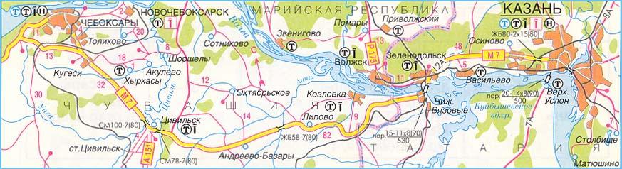 М-7 Волга, участок Чувашская